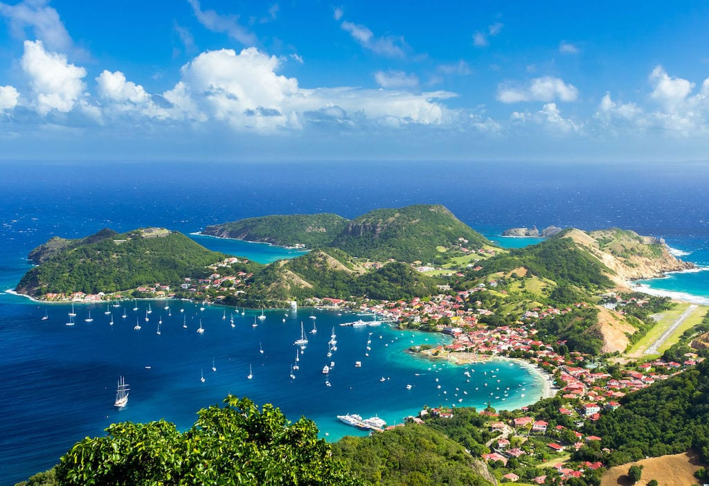 Guadeloupe — the Bluest of Blues