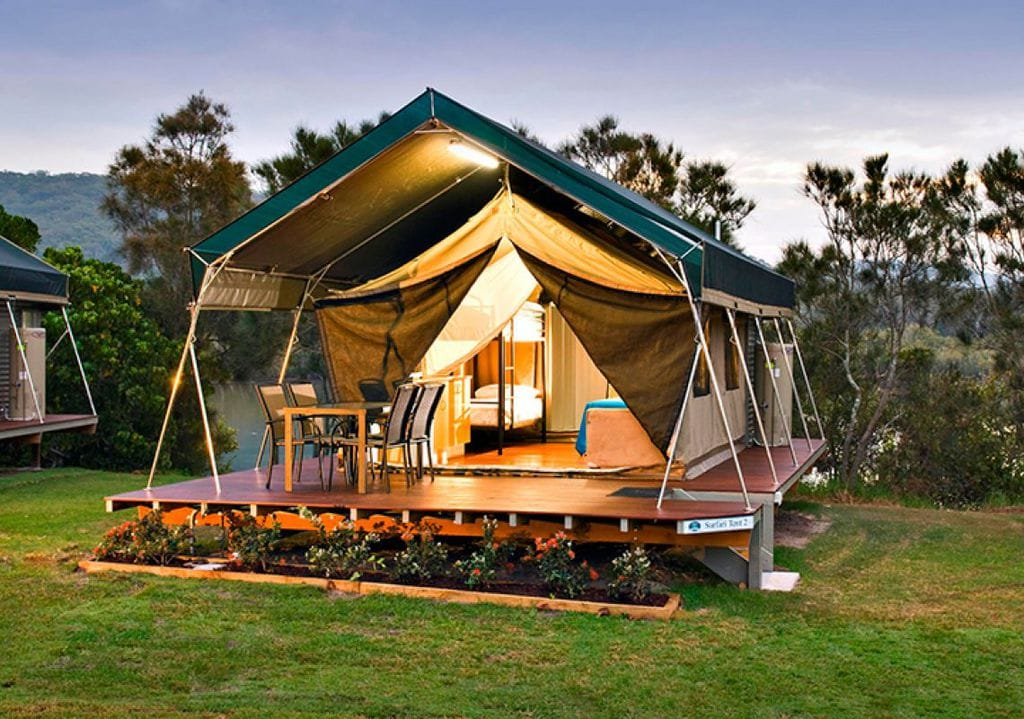 Proper Glamping Starts With the Tent