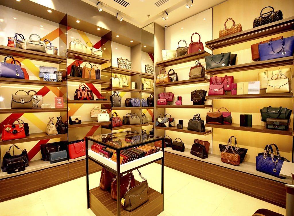 Luxury handbag shop