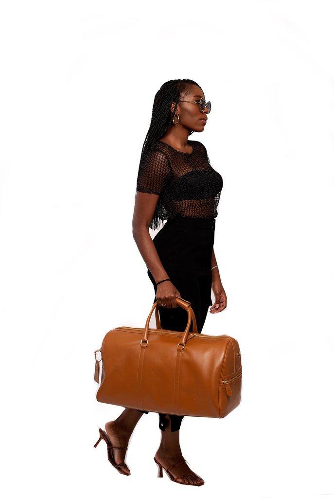 Carryall Duffle Bag in Camel