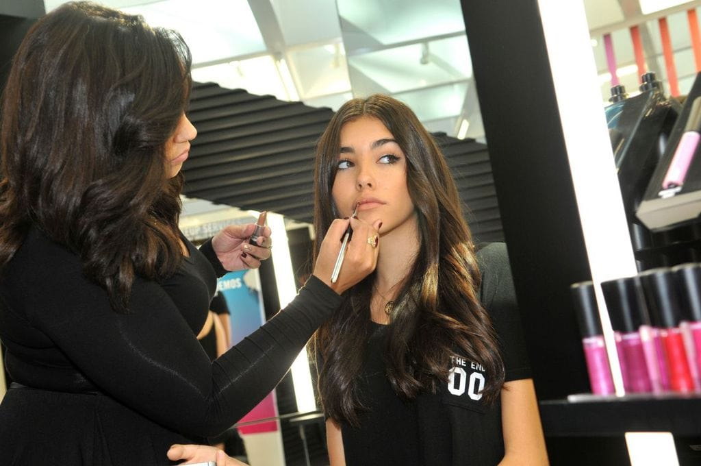 Madison Beer at a MAC Cosmetics Store Opening