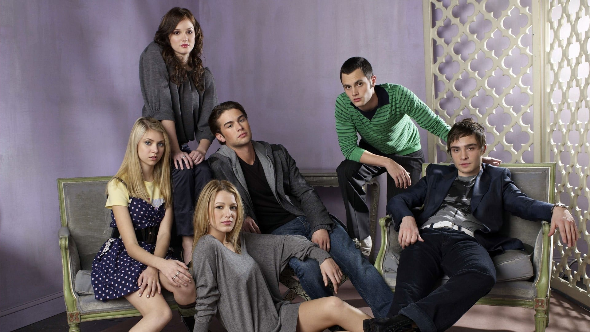 Gossip Girl Poster from the 2000s