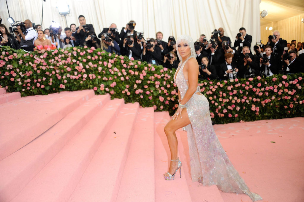 Jennifer Lopez during the Met Gala 2019